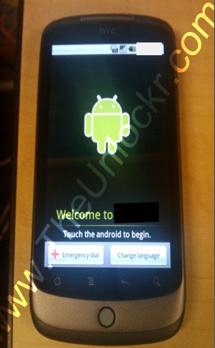 Erste Bilder vom Google-Phone